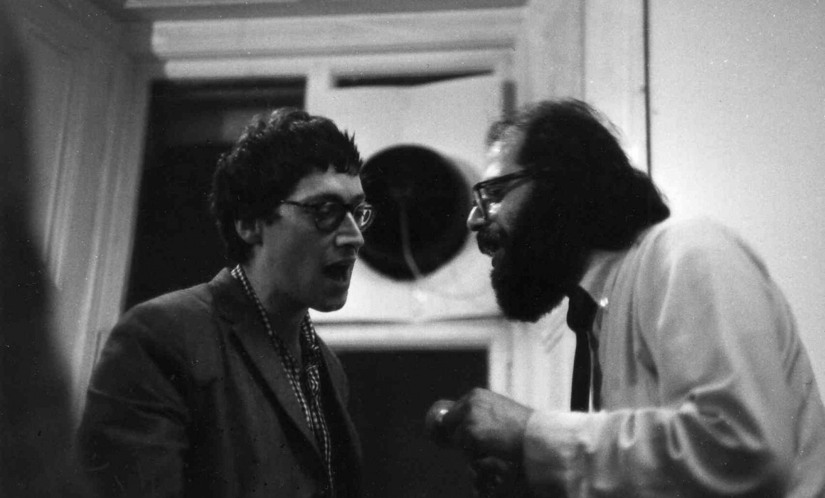 Michael Horivitz and Allen Ginsberg at the ICA