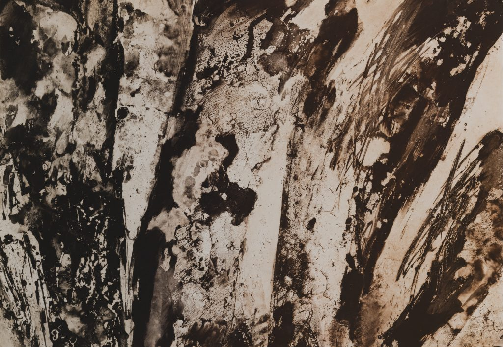 Wood panels Wallpaper Realistic  Effect Light Grey Grandeco VOA-006-04-3