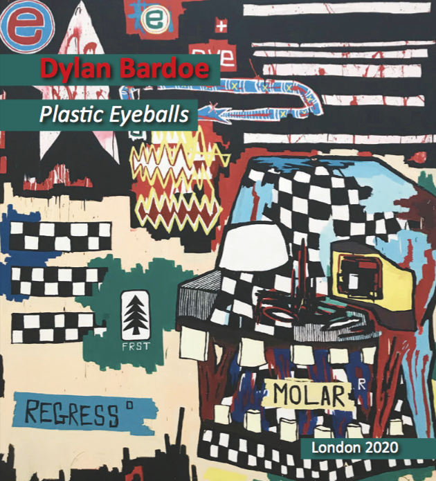 Dylan Bardoe Plastic Eyeballs Catalogue Cover